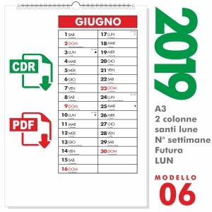 Calendario Editabile 2020.Calendario Editabile Calendario In Formato Vettoriale